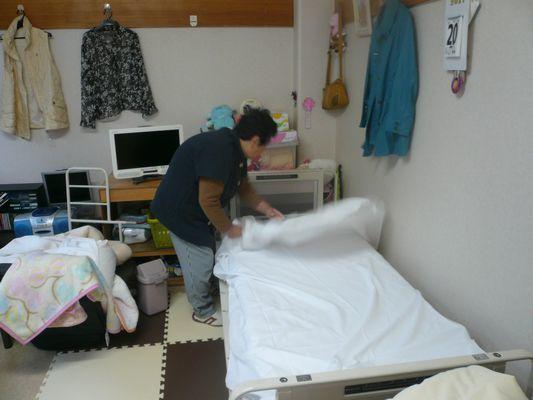 10/21 シーツ交換・DVD鑑賞_a0154110_13271368.jpg