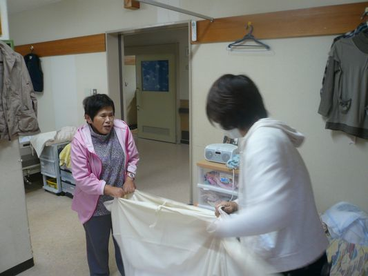 10/21 シーツ交換・DVD鑑賞_a0154110_13271674.jpg