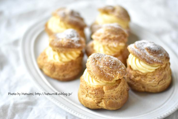 嵐の中のシュークリーム - honey+Cafe