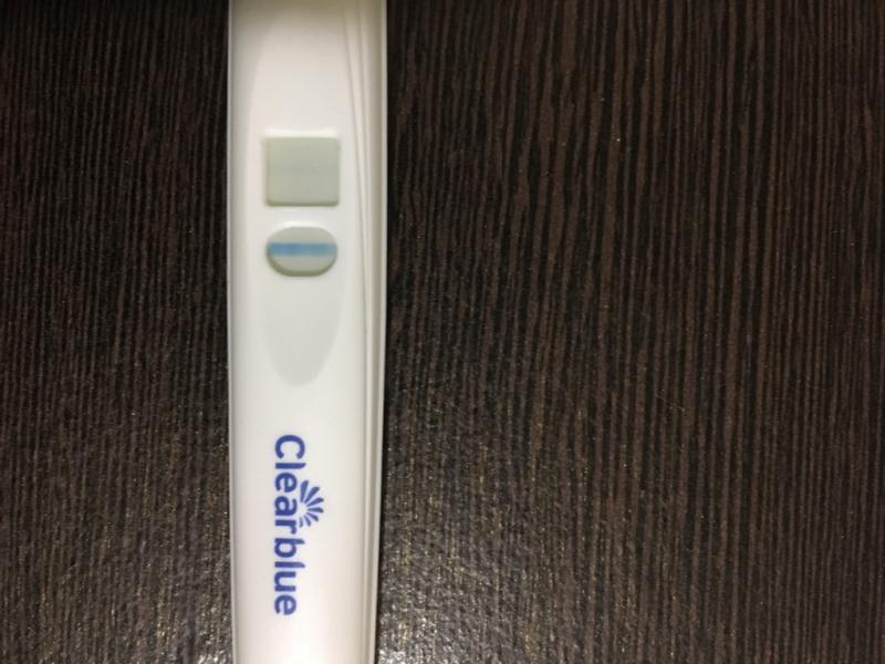 妊娠検査薬 クリアブルー 薄い