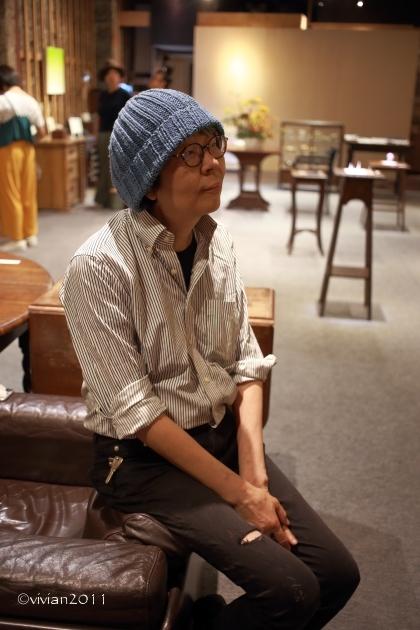 悠日カフェ ~ランチを兼ねて現代美術3人展へ~_e0227942_22200296.jpg