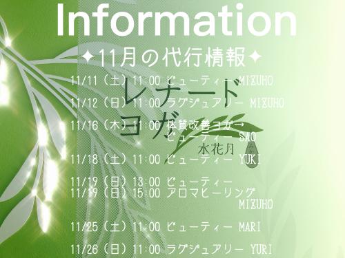 11月の代行☆_f0168650_13354115.jpeg