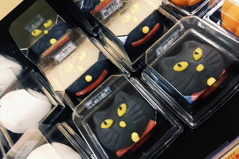 【今年も!】ハロウィン 黒ねこケーキ@シャトレーゼ_b0008655_17444583.jpg