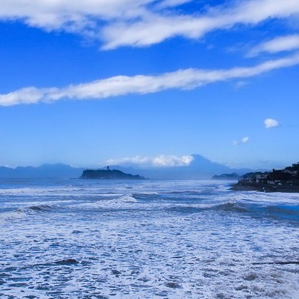台風一過の七里ヶ浜。_b0022268_20091690.jpg