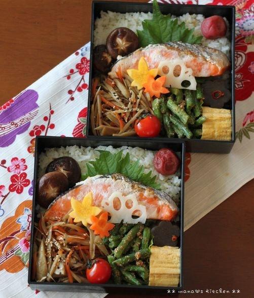 月曜鮭弁 ✿ 万能カレー(๑¯﹃¯๑)♪_c0139375_12213694.jpg