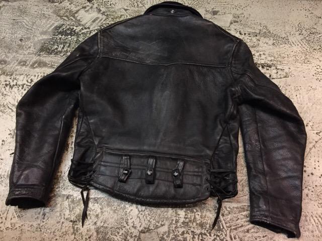 10月25日(水)大阪店ヴィンテージ&スーペリア入荷!#4 Leather&Mix編!PolicemanRidersJKT!!_c0078587_14493251.jpg