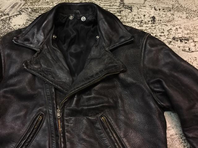 10月25日(水)大阪店ヴィンテージ&スーペリア入荷!#4 Leather&Mix編!PolicemanRidersJKT!!_c0078587_1450161.jpg