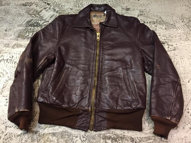 10月25日(水)大阪店ヴィンテージ&スーペリア入荷!#4 Leather&Mix編!PolicemanRidersJKT!!_c0078587_14534251.jpg