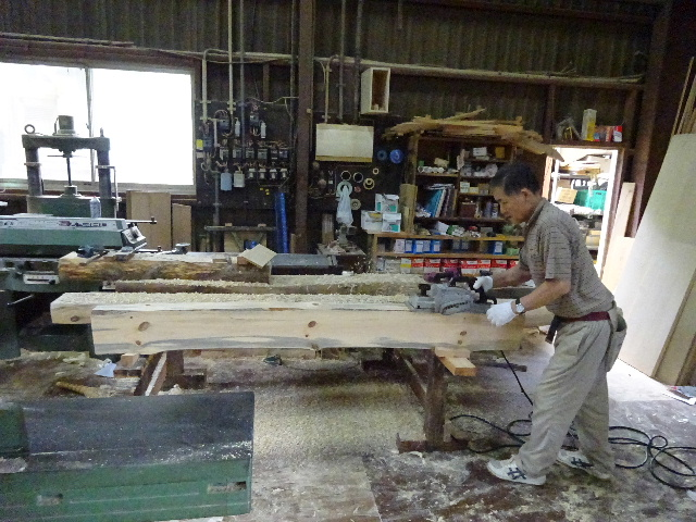 黒川の家 大工工事進行中。 _f0105112_4544127.jpg