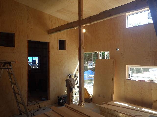黒川の家 大工工事進行中。 _f0105112_4581586.jpg