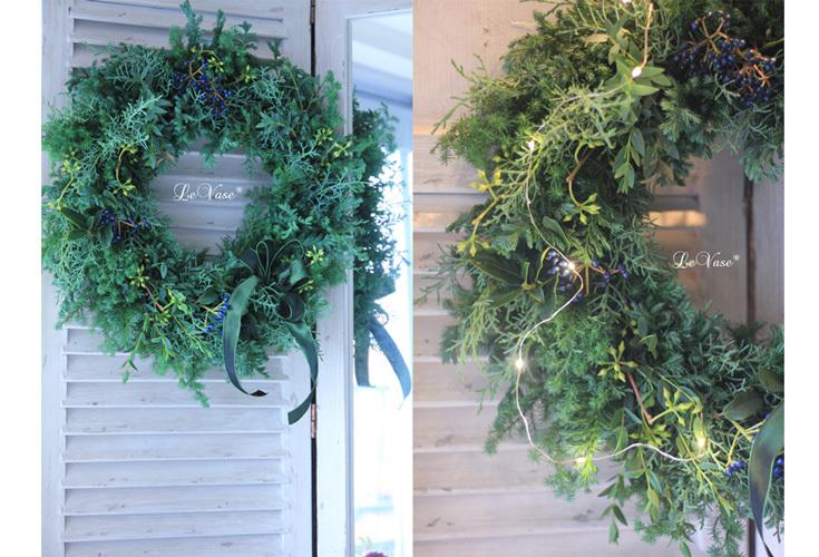 2017Le vase クリスマス1dayレッスンのお知らせ_e0158653_19152713.jpg