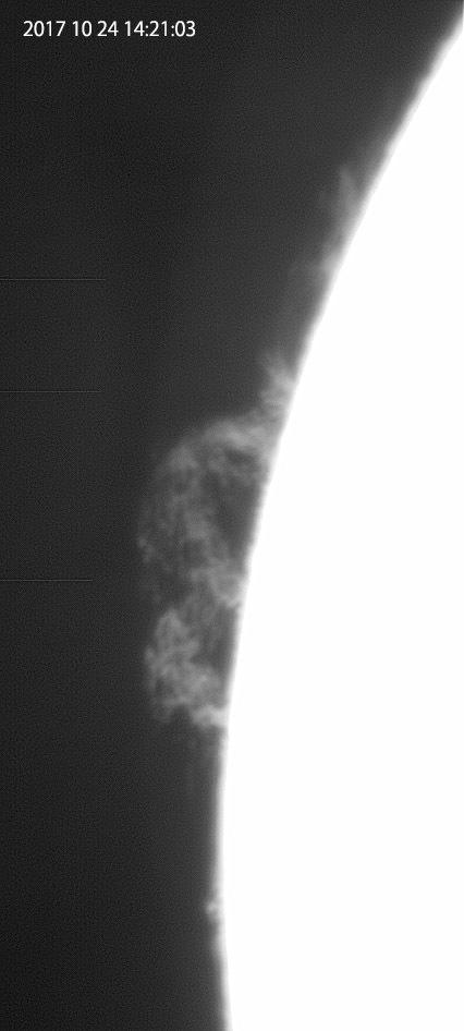 10月24日の太陽_e0174091_16385523.jpg