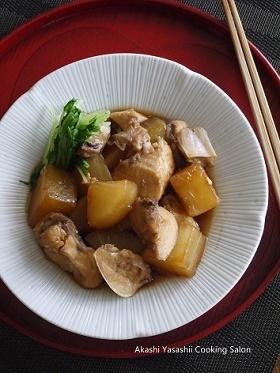 生徒さんのお料理〈甘辛鰤アラ大根 〉_f0361692_12222451.jpg
