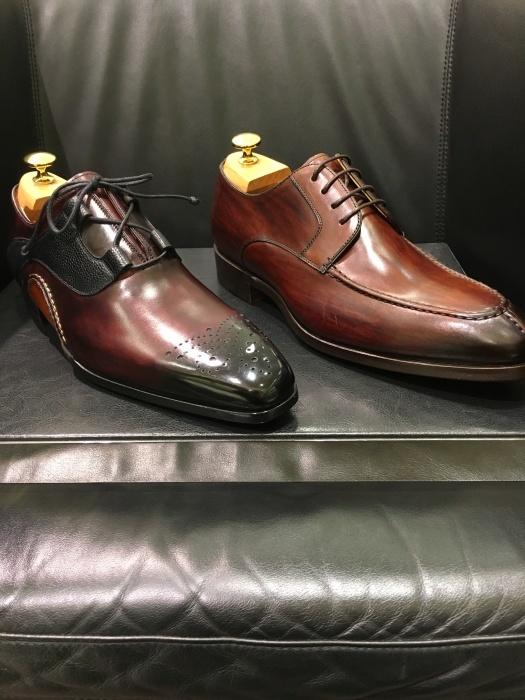 紳士靴売場新商品情報_b0226322_18430517.jpg