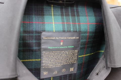世界最高のステンカラーコート 「MACKINTOSH by FRANCIS CAMPELLI」 ご紹介_f0191324_07312529.jpg