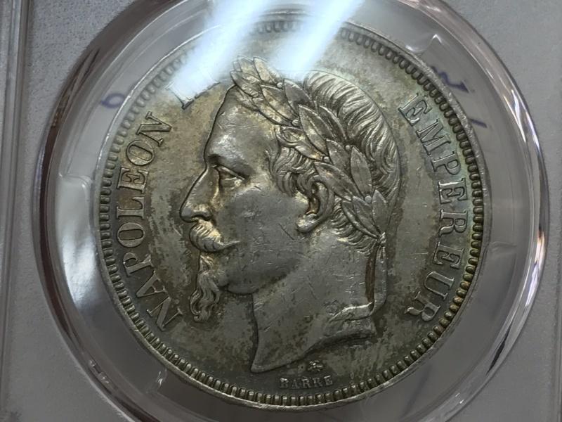10月25日ナポレオン3世有冠5フランエセー⭐️発売⭐️_d0357629_09214182.jpg