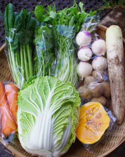 今週の野菜セット(10/24~10/28着)・・・台風21号_c0110869_06170059.jpg