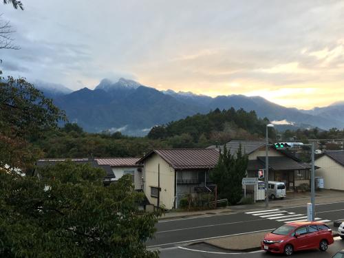 八ヶ岳、甲斐駒ヶ岳、積雪、、_d0338282_17355368.jpg