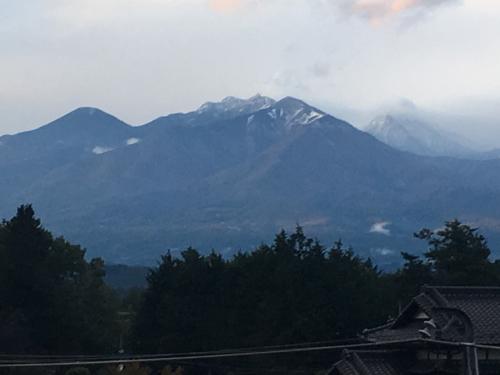八ヶ岳、甲斐駒ヶ岳、積雪、、_d0338282_17355459.jpg