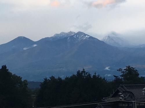 八ヶ岳、甲斐駒ヶ岳、積雪、、_d0338282_17355675.jpg