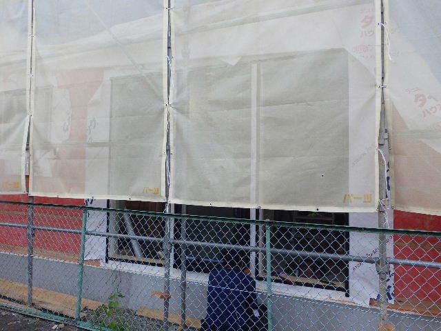 南大通りの家 大工工事 進行中。_f0105112_04361814.jpg