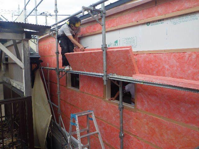 南大通りの家 大工工事 進行中。_f0105112_04404485.jpg