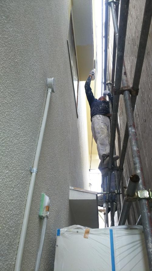 K様邸(西区草津浜町)外壁塗装工事_d0125228_750733.jpg