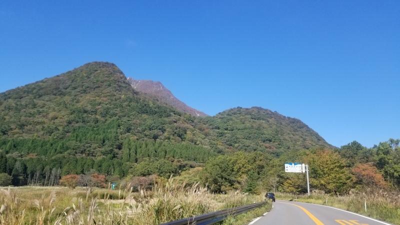 今日の由布岳風景_c0357333_15043332.jpg