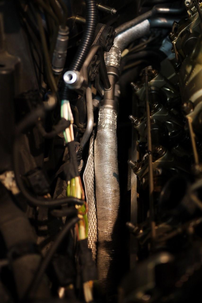 BMW E61 550iツーリング オイル漏れ ダイナモ交換_d0171835_19591835.jpg