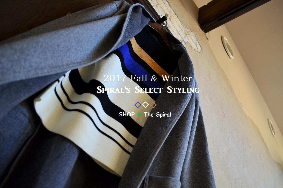 """2017 F/W Spiral\'s Select Styling...10/26thu\""_d0153941_17154945.jpg"
