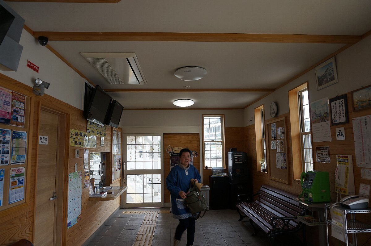 えちぜん鉄道で永平寺口駅へ_c0112559_08510175.jpg