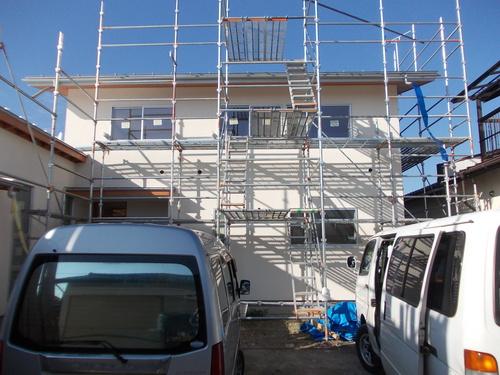池田町K邸工事状況2_c0218716_1632173.jpg