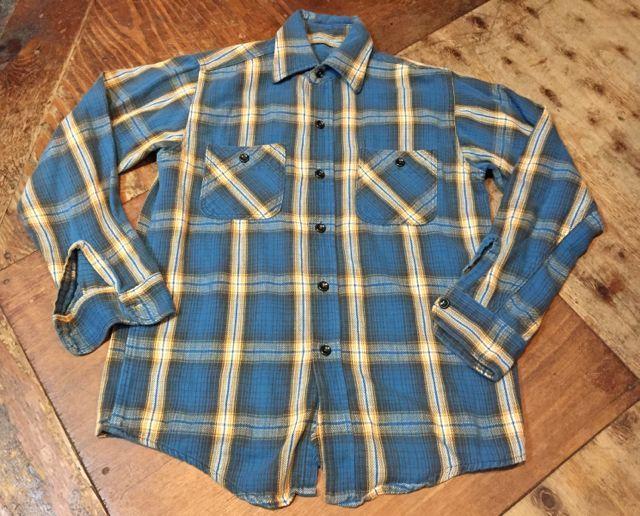 10月28日(土)入荷!70s〜UNKNOWN FLANNEL SHIRTS! ネルシャツ! _c0144020_14441409.jpg