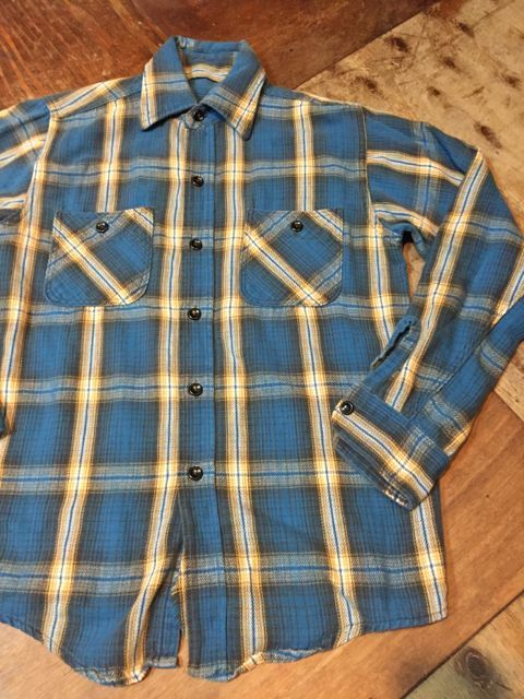 10月28日(土)入荷!70s〜UNKNOWN FLANNEL SHIRTS! ネルシャツ! _c0144020_14441845.jpg