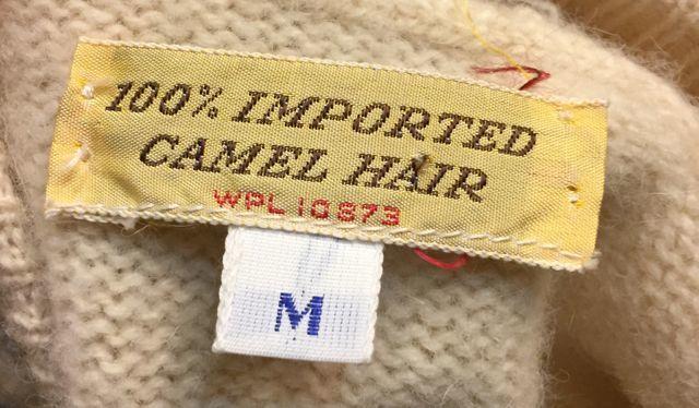 10月28日(土)入荷!70s〜CAMEL HAIR WOOL CARDIGAN キャメルヘアウールカーデ_c0144020_14493241.jpg