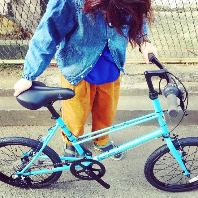 BRUNO 2017 『 MIXTE F BLACK EDITION 』ブルーノ ミニベロ ミキスト おしゃれ自転車 自転車女子 自転車ガール ポタリング_b0212032_16272968.jpg