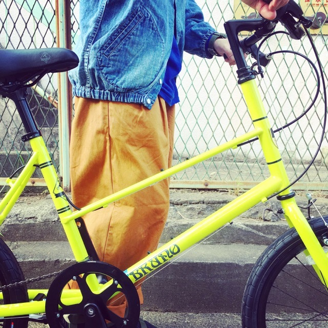 BRUNO 2017 『 MIXTE F BLACK EDITION 』ブルーノ ミニベロ ミキスト おしゃれ自転車 自転車女子 自転車ガール ポタリング_b0212032_16274860.jpg