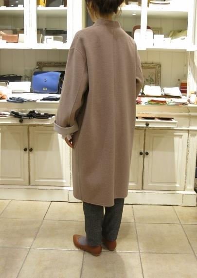 マリンフランセーズのダブルフェイスウールのコートです。_c0227633_13051586.jpg
