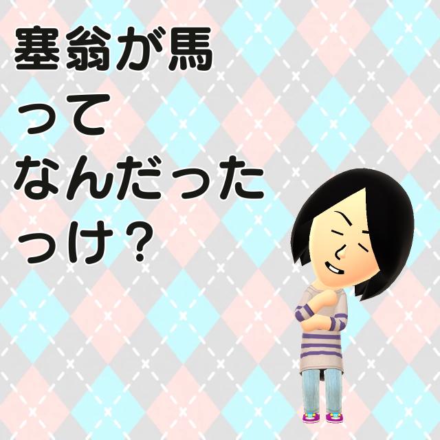 塞翁が馬(*^▽^*)☆_f0183846_16373460.jpg