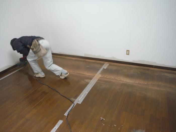 リビング床工事 ~ シロアリ被害が見つかりました。_d0165368_07051428.jpg