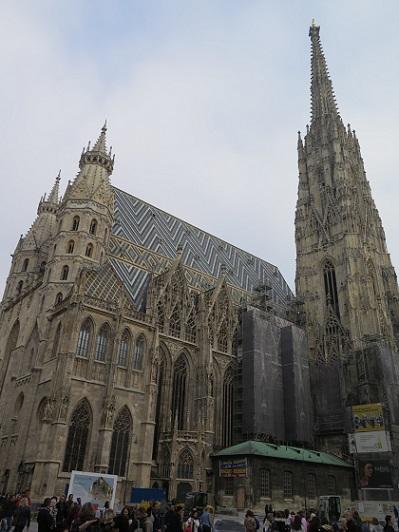 ウィーン、シュテファン寺院_c0192215_18155950.jpg