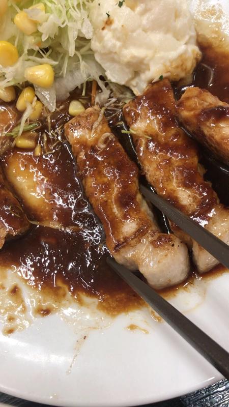 松屋で豚テキ定食&牛焼肉定食_a0359239_02332620.jpg