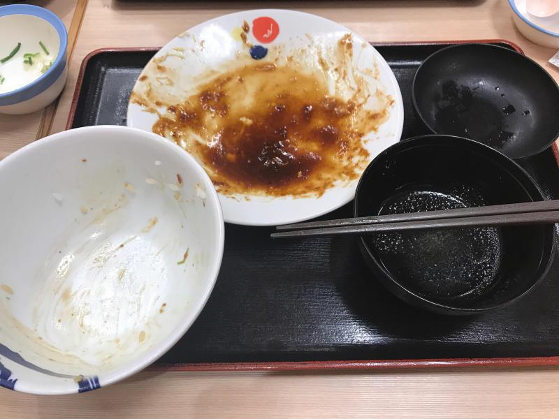 松屋で豚テキ定食&牛焼肉定食_a0359239_02365658.jpg