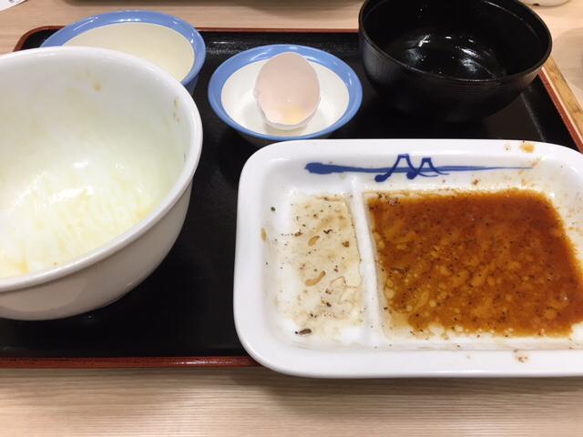 松屋で豚テキ定食&牛焼肉定食_a0359239_02462444.jpg