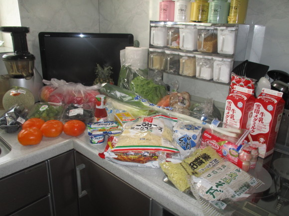 「札幌大球」やお漬物の材料&お林檎を買いに~_a0279743_23570375.jpg