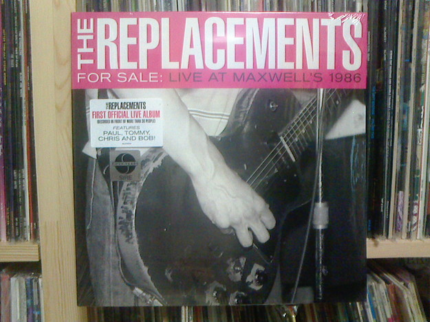 For Sale: Live At Maxwell\'s 1986 / The Replacements_c0104445_185623100.jpg