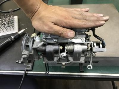 MC21  フロートバルブシート交換&O/H_e0114857_22381759.jpg