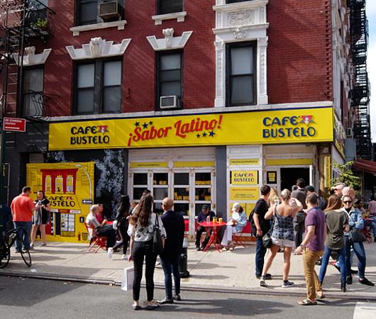 NY生まれのコーヒー豆ブランド、カフェ・バステロ(Café Bustelo)のポップアップ店へ_b0007805_21123940.jpg