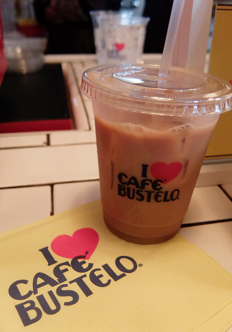 NY生まれのコーヒー豆ブランド、カフェ・バステロ(Café Bustelo)のポップアップ店へ_b0007805_2113949.jpg