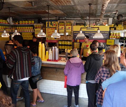 NY生まれのコーヒー豆ブランド、カフェ・バステロ(Café Bustelo)のポップアップ店へ_b0007805_21151491.jpg
